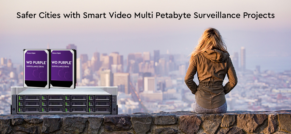 Safer Cities with Smart Video Multi Petabyte Surveillance Projects